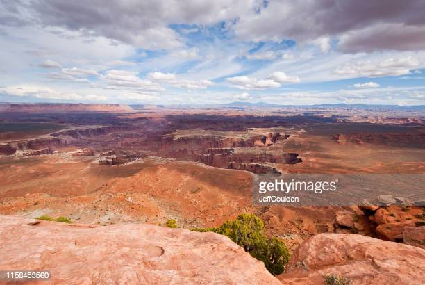 network of canyons from grandview point - jeff goulden stock pictures, royalty-free photos & images