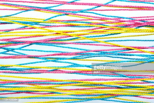 network of strings - 糸 ストックフォトと画像