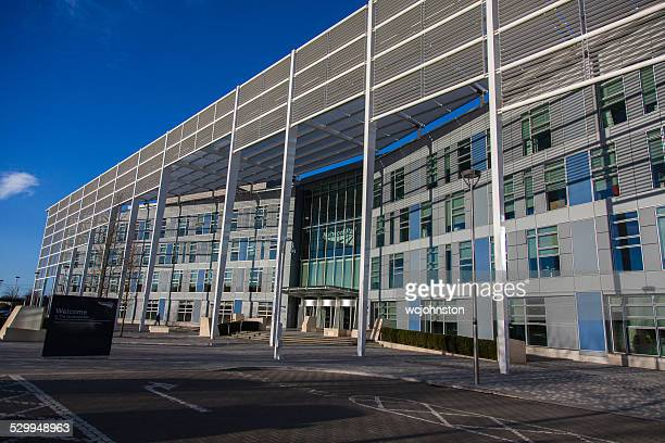 network rail office building in milton keynes - milton keynes stock pictures, royalty-free photos & images