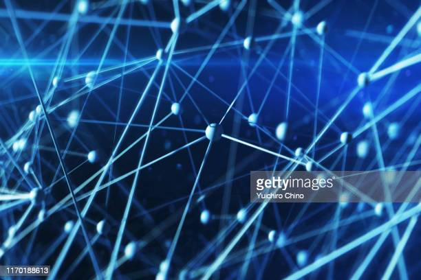 network space - connect the dots stock pictures, royalty-free photos & images