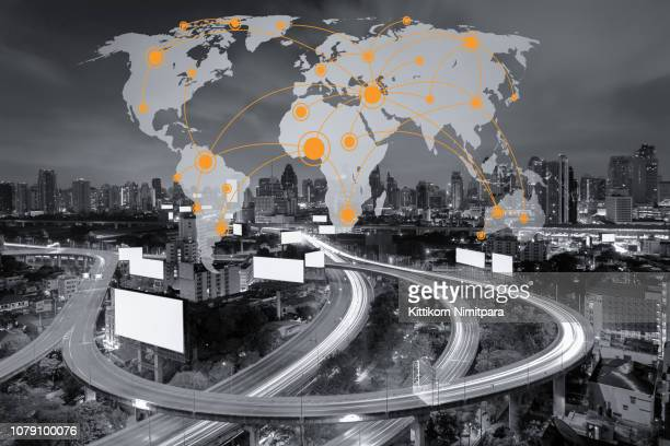 network; technology; connection; city; background; global; world; data; concept; communication; digital; business; internet; networking; connect; map; connectivity; social; connected; abstract; design; modern; web; blue; graphic; line; icon; telecommunica