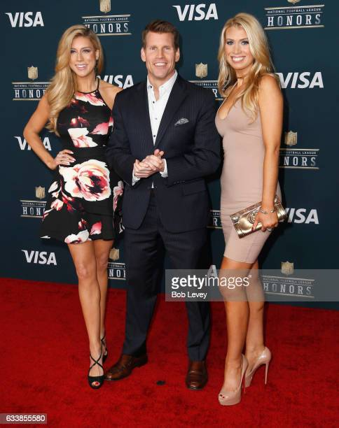 Network TV anchor and reporter Scott Hanson attends 6th Annual NFL Honors at Wortham Theater Center on February 4 2017 in Houston Texas