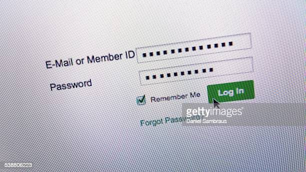 networked - log on stock photos and pictures