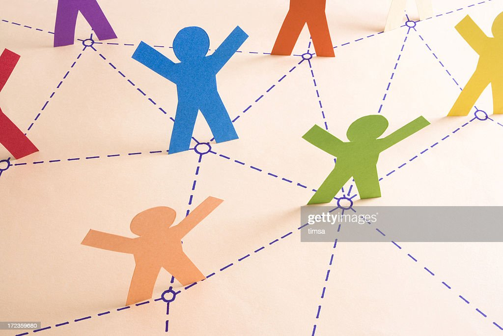 Networking with collegues : Stock Photo