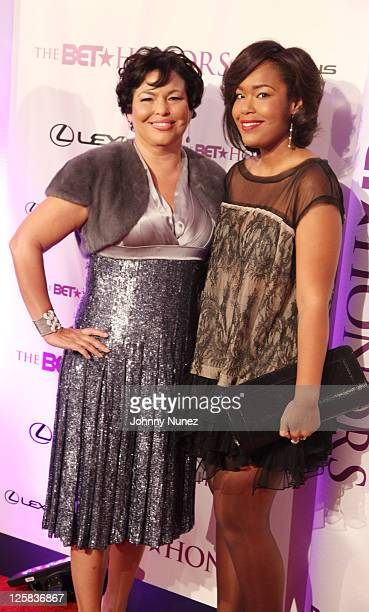 BET Networks CEO Debra Lee and her daughter Ava Coleman attend the 4th annual BET Honors at the Warner Theatre on January 15 2011 in Washington DC