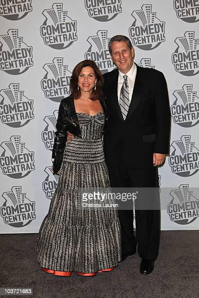 Networks Entertainment Group President Doug Herzog and wife Noreen arrive at Comedy Central's 62nd Annual Emmy After Party at The Colony on August 29...