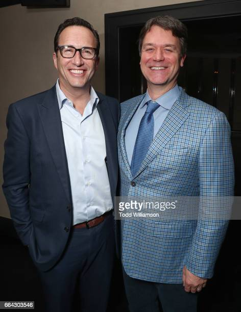Networks President and General Manager Charlie Collier and Showrunner/Executive Producer Kevin Murphy attend the after party for the premiere oif...