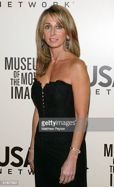Networks president Bonnie Hammer arrives at the American Museum Of The Moving Image Salute To John Travolta at the Waldorf Astoria Hotel December 5...