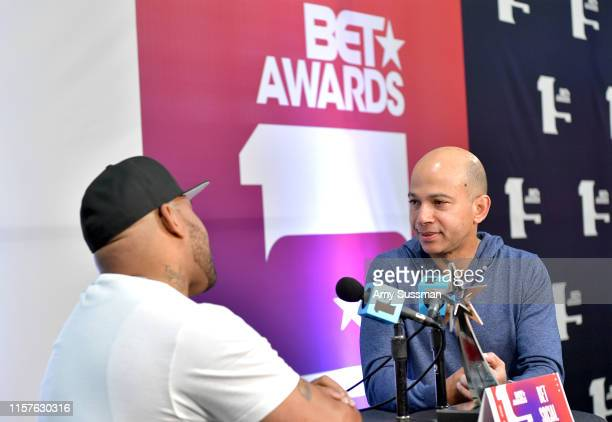 Networks President Scott M Mills attends the BET Awards Radio Broadcast Center at Microsoft Theater on June 22 2019 in Los Angeles California