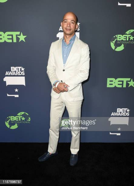 Networks President Scott M Mills attends the BET Awards Welcome Party at Liaison Lounge on June 21 2019 in Los Angeles California