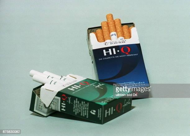 neuartige Zigaretten der Marken HiQ und HiQ fresh der RJ Reynolds Tobacco die Zigarette die nicht raucht