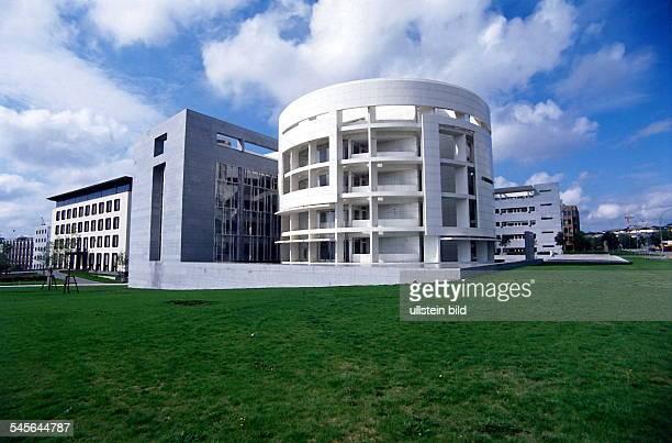 Neubau Bayerische Hypotheken undWechselbank International im neuen Bankenviertel in Luxemburg 00001995