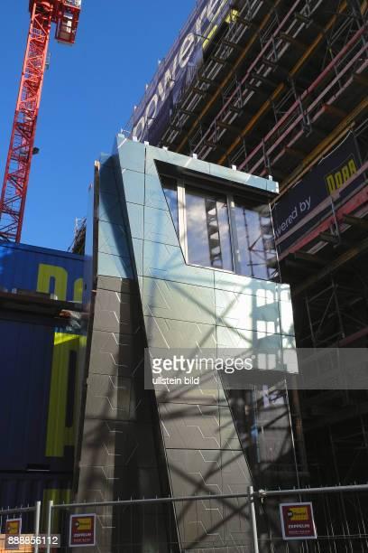 Neubau der BNDZentrale an der Chausseestrasse und Schwartzkopf strasse in Berlin Mitte wird noch teurer wie bereits gemeldet sollen die Kosten nun...