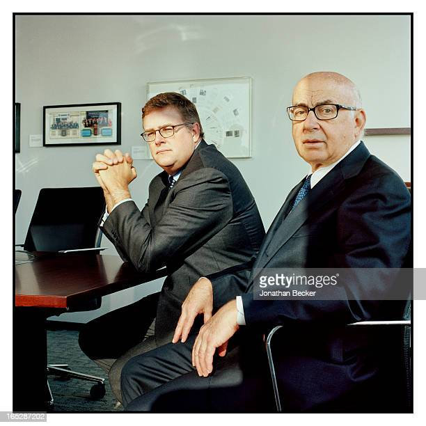 Neuberger Berman's CEO George Walker and portfolio manager Marvin Schwartz are photographed George Walker Marvin Schwartz for Fortune Magazine on...