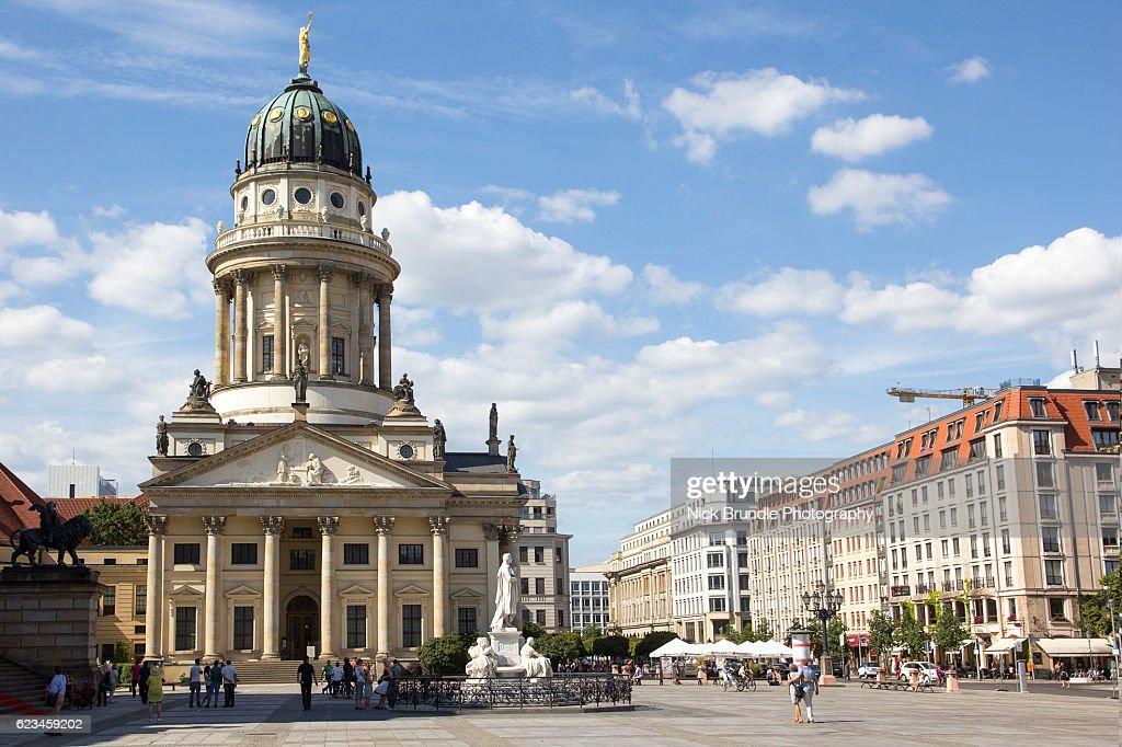 Neue Kirche, Berlin, Germany : Stock Photo