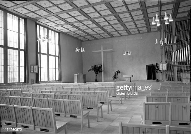 Neue Kirche Zürich Albisrieden 1952