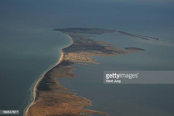 neuendorf auf der insel hiddensee - insel stock pictures, royalty-free photos & images