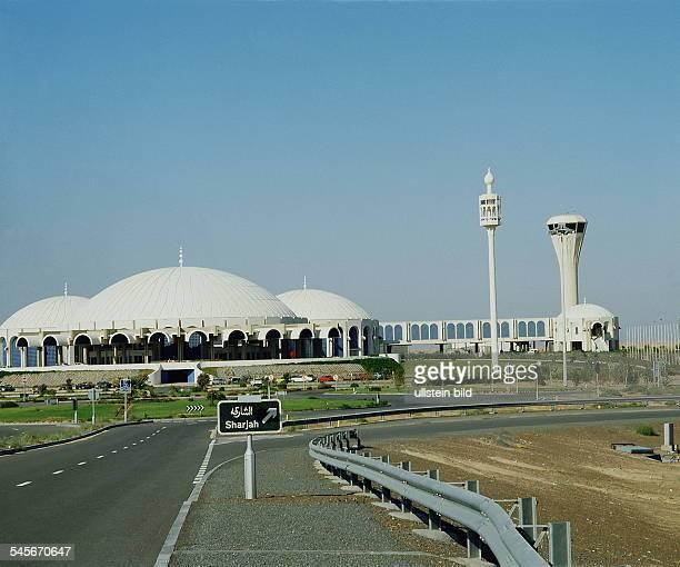 Neuer Flughafen in Sharjah 1988
