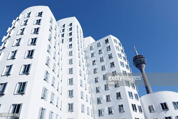 Neuer Zollhof buildings dusseldorf germany
