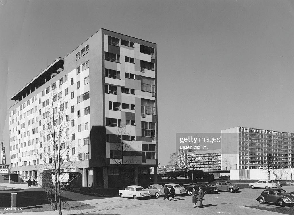 Neuerrichteten Wohnhäuser 1959