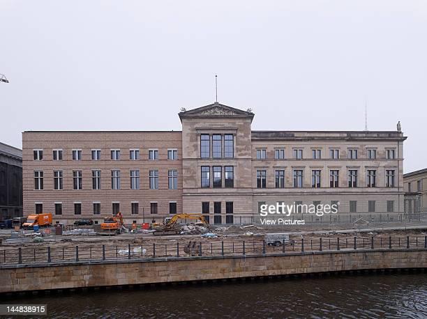 Neues MuseumBerlin, Museum Island, Germany, Architect: Friedrich Stüler David Chipperfield Architects Julian Harrap Architects Neues Museum Berlin By...