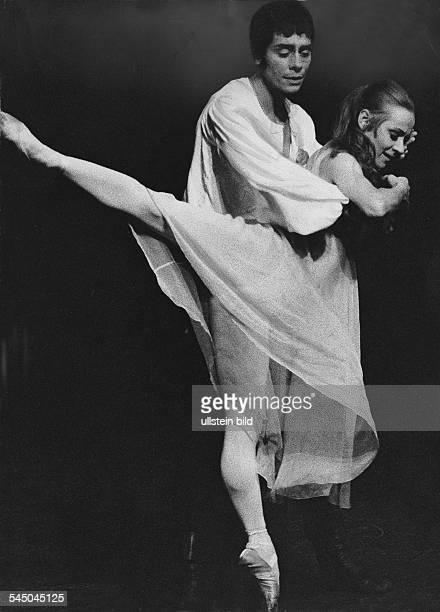Neumeier John Ballet Dancer Choreographer USA and Marianne Kruuse dancing Romeo and Juliet