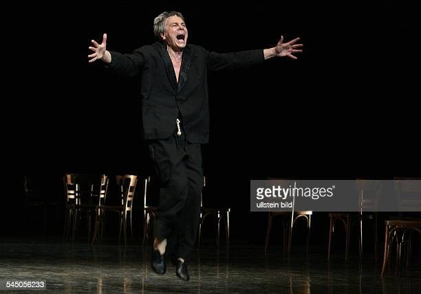 Neumeier John Ballet Dancer Choreographer USA dancing Les chairs during the Hamburg Ballet Days