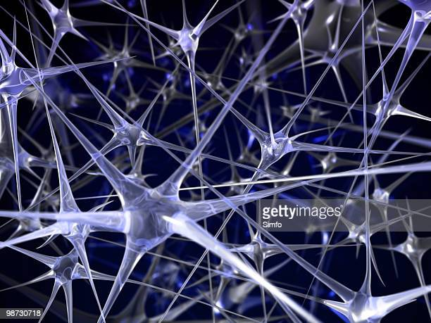 neural network abstract background