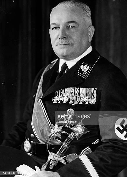 Neurath Konstantin Freiherr von Diplomat Germany*18731956 'Reichsaussenminister' of Neurath Published by 'Braune Post' 06/1938 Photographer...