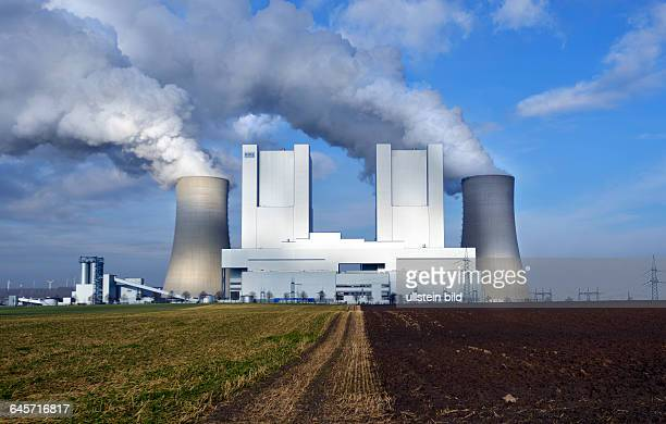 Neurath the new power plant Neurath II of RWE AG