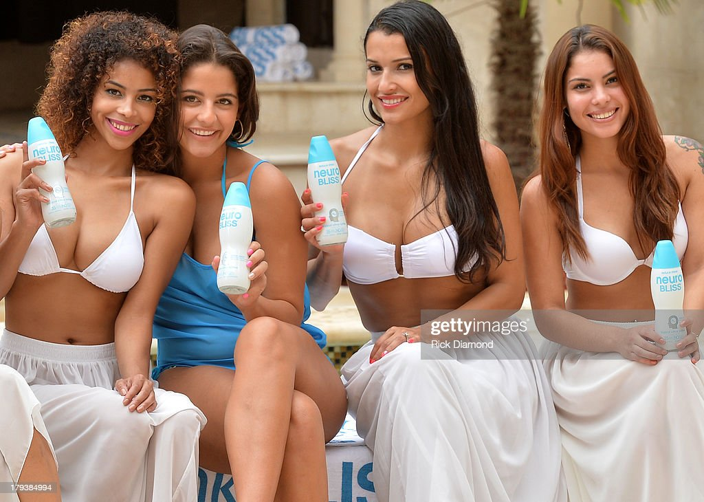 'Neuro Brand Ambassadors' during Neuro Drinks At LudaDay Weekend Celebrity Pool Party on September 2, 2013 in Atlanta, Georgia.