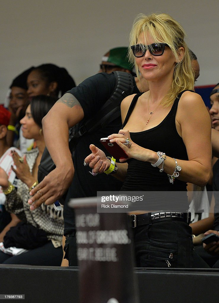 Neuro Brands Chairperson, CEO and Founder Diana Jenkins, during Neuro Drinks At LudaDay Weekend Celebrity Basketball Game at GSU Sports Arena on September 1, 2013 in Atlanta, Georgia.