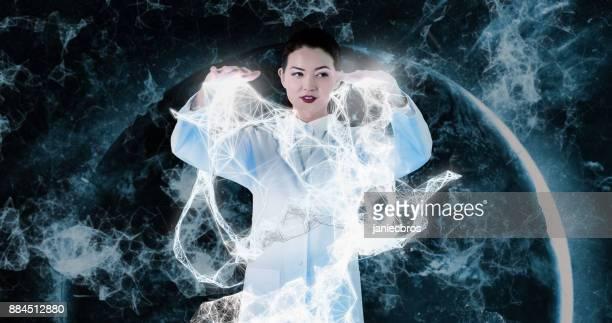 Onderzoek van de neurologie in virtuele werkelijkheid