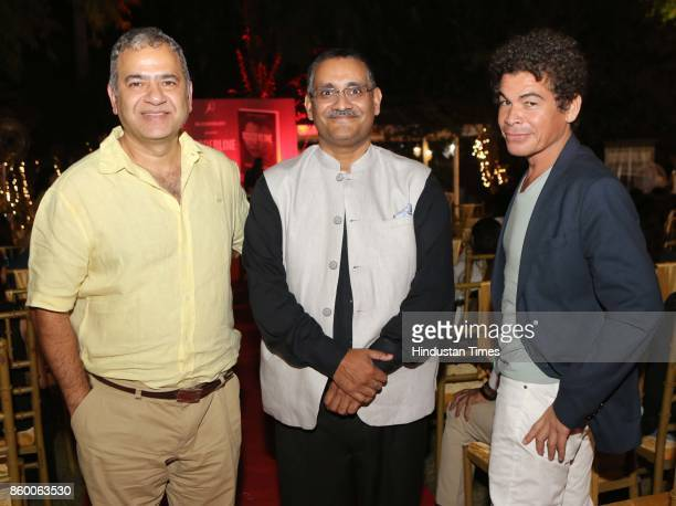 Neuropsychiatrist Sanjay Chugh during the launch of the nonfiction book Borderline by author Shabri Prasad Singh at the Lawns of Hotel Diplomat...