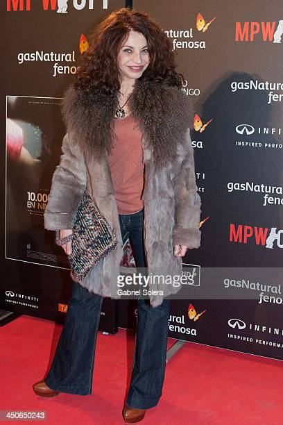 Neus Asensi attends '10000 Noches en Ninguna Parte' Madrid Premiere at Callao cinema on November 19 2013 in Madrid Spain
