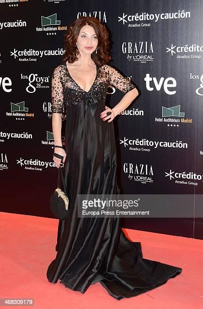 Neus Asensi attends Goya Cinema Awards 2014 after party at Centro de Congresos Principe Felipe on February 9 2014 in Madrid Spain