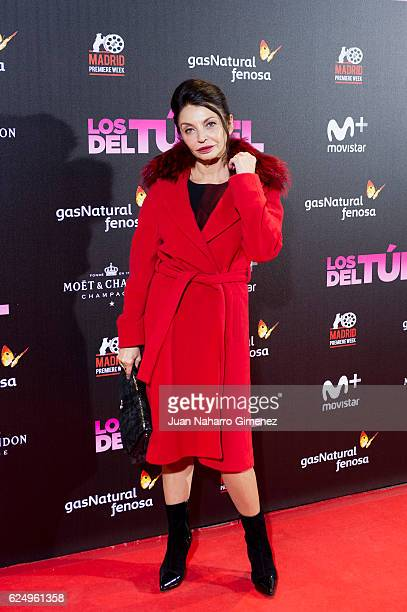 Neus Asensi attends 'Los Del Tunel' premiere during the Madrid Premiere Week at Callao Cinema on November 21 2016 in Madrid Spain