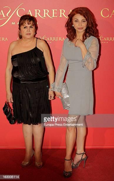 Neus Asensi attends 'Maja de los Goya Awards 2012' at Fernan Nunez Palace on March 7 2013 in Madrid Spain