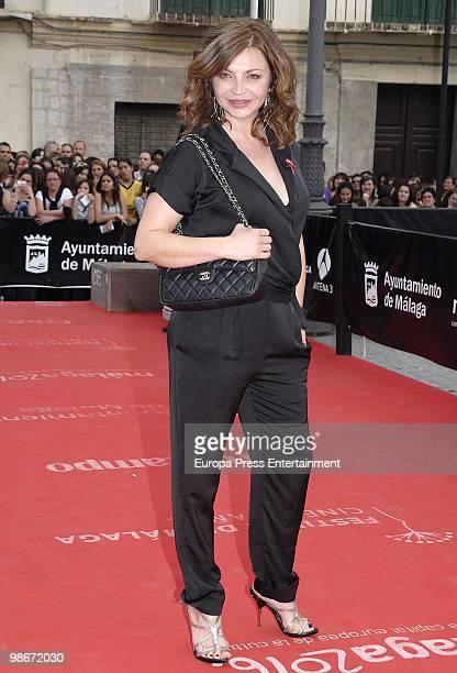 Neus Asensi attends the 13th Malaga Film Festival on April 26 2010 in Malaga Spain