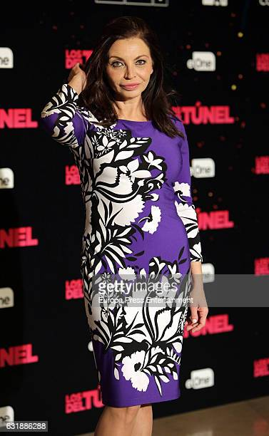 Neus Asensi attends the 'Los Del Tunel' photocall at Palafox Cinema on January 17 2017 in Madrid Spain