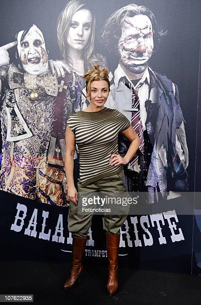 Neus Asensi attends the premiere of 'Balada Triste de Trompeta' at Capitol Cinema on December 15 2010 in Madrid Spain