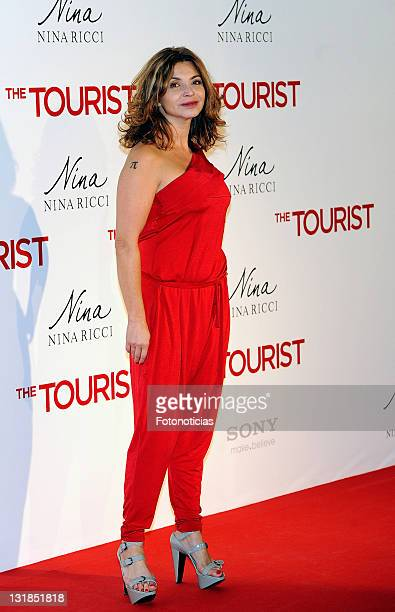 Neus Asensi attends the premiere of 'The Tourist' at the Palacio de Deportes on December 16 2010 in Madrid Spain