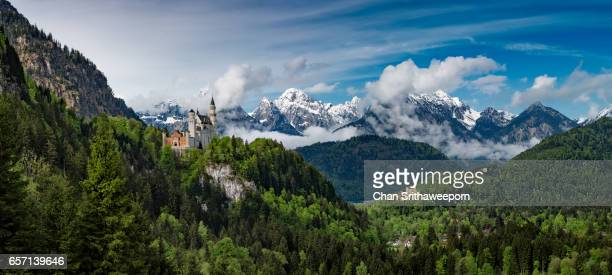 Neuschwanstein Castle and Hohenschwangau Castle