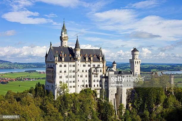 neuschwanstein castle, bavaria, germany - neuschwanstein castle stock pictures, royalty-free photos & images