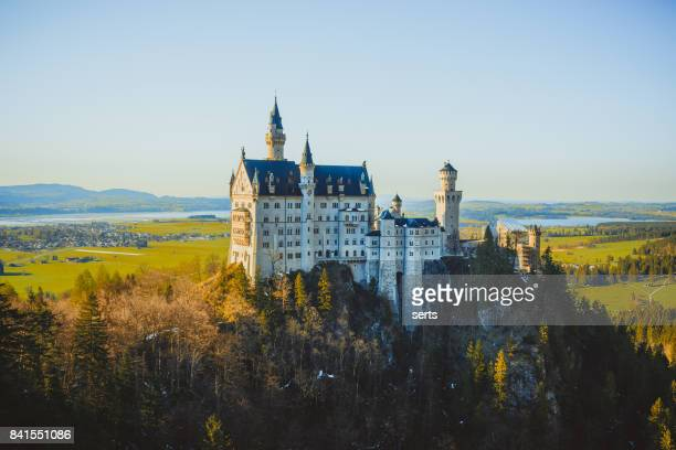 neuschwanstein castle, füssen, germany - neuschwanstein castle stock pictures, royalty-free photos & images