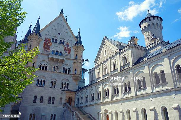 Neuschwanstein Castle, Hohenschwangau in Germany