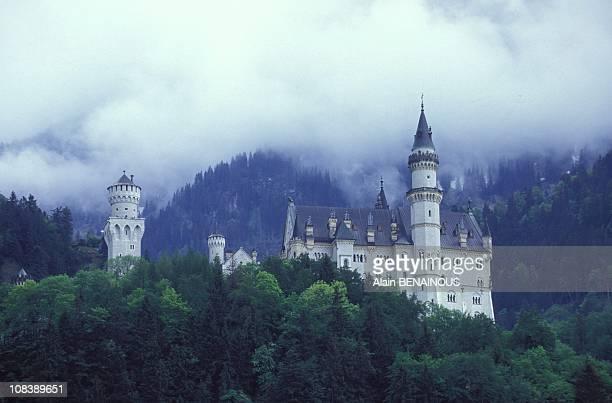 Neuschwanstein in Hohenschwangau Germany on June 01 1995