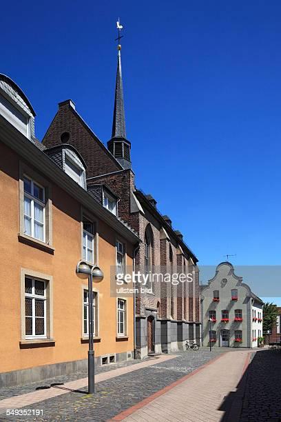 Neuss Marienberg monastery monastery church Saint Maria Geburt