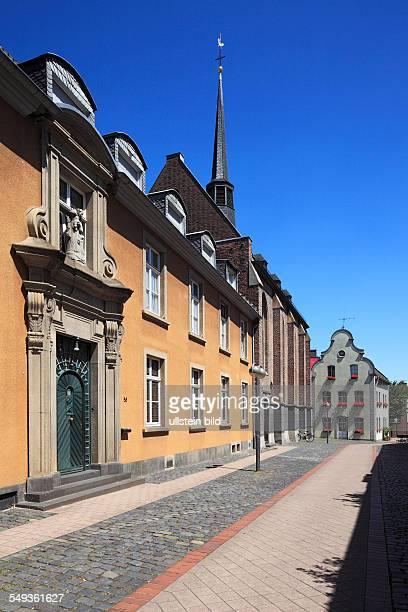 Neuss, Marienberg monastery, monastery church Saint Maria Geburt