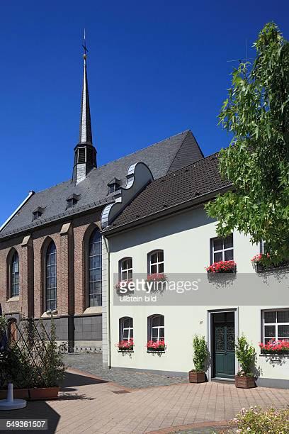 Neuss monastery Marienberg Augustinian nun monastery monastery church